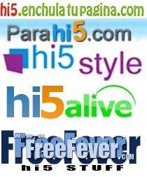Enchula tu página Hi5 con fondos e imágenes