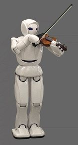 Toyota presenta un robot violinista