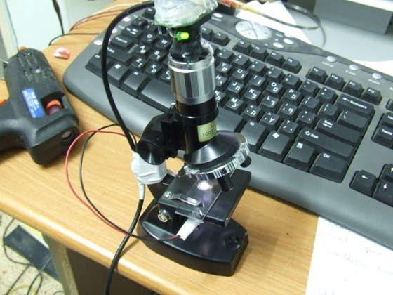 Как сделает микроскоп
