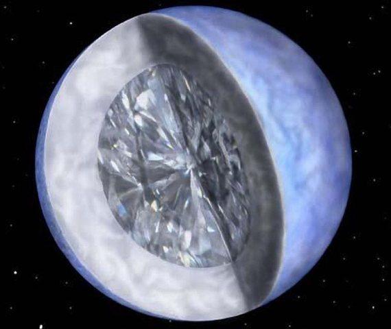 Un diamante de mil billones de trillones de trillones de quilates