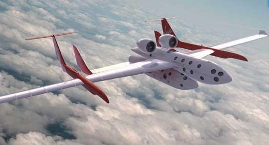 Virgin presentó SpaceShipTwo, su próxima nave espacial