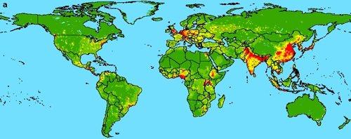 El mapa de las epidemias del futuro