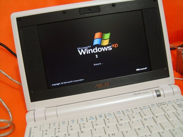 Instalar Windows XP en Asus eeePC