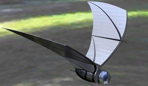 Murciélago Robot: Presentan el diseño de un nuevo robot volador