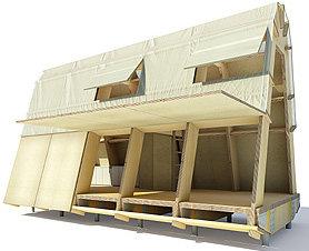 Casas de Cartón robustas y prácticas