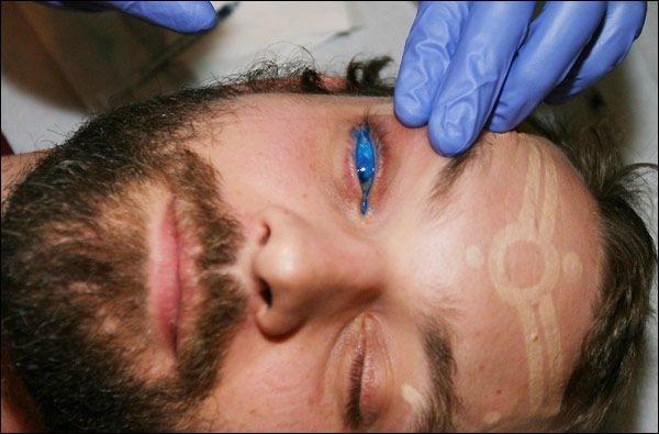El primer tatuaje de ojo