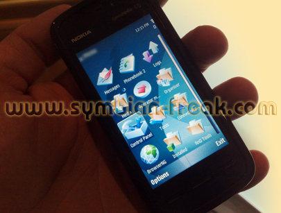 """Nokia 5800 """"Tube"""""""