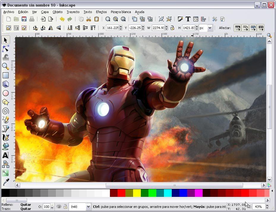 Inkscape: Como Adobe Illustrator CS3 pero gratis
