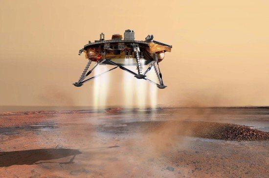 NASA: Mars Phoenix Lander llegó a Marte