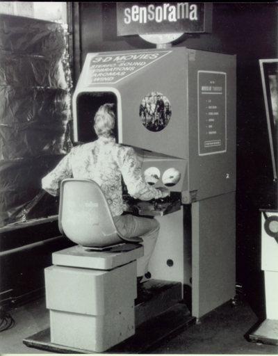 ¡Realidad virtual en 1957!