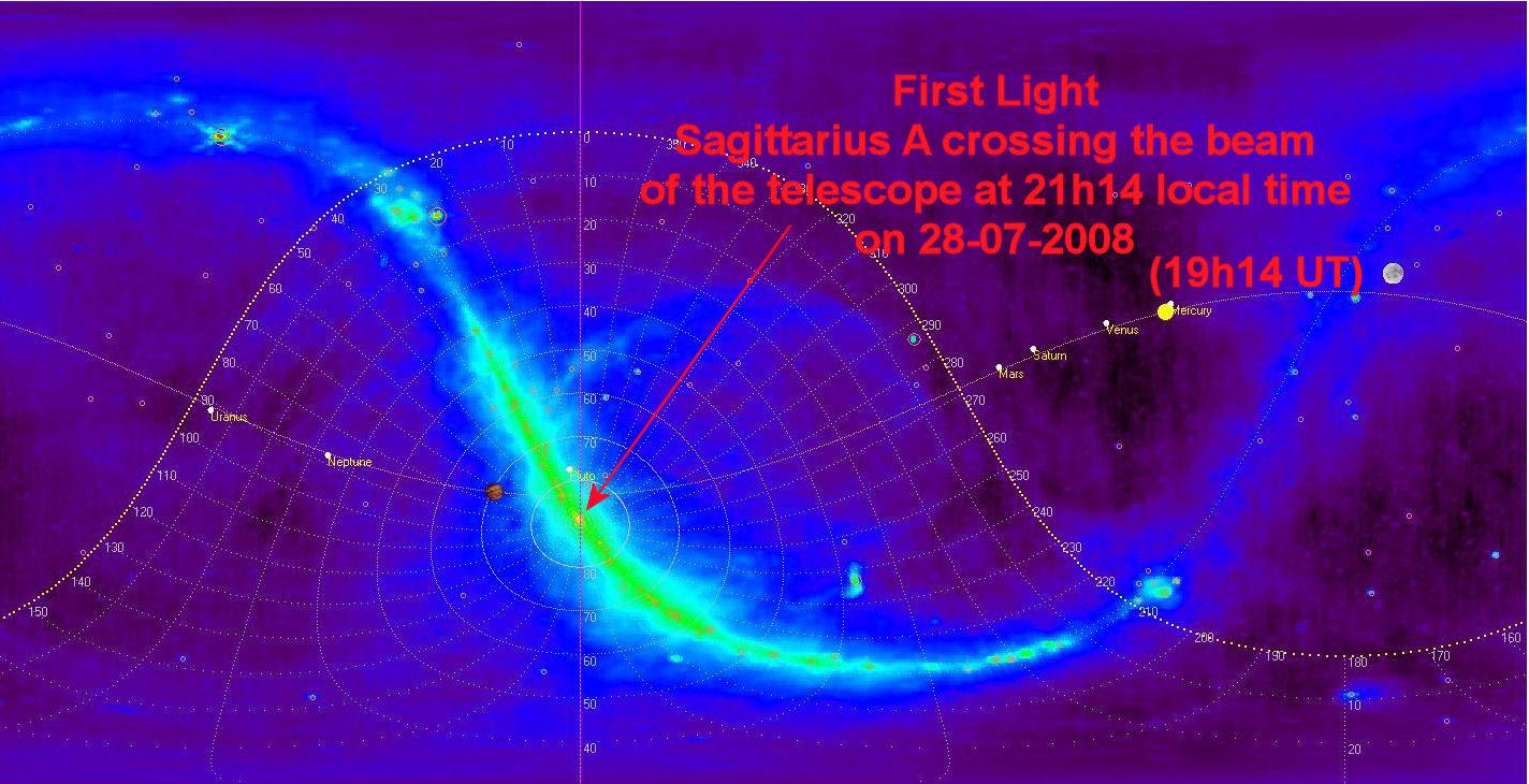 Detectada señal de radio del espacio exterior