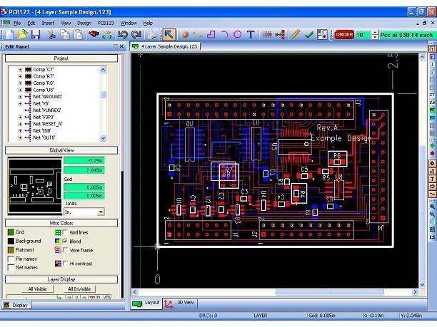 PCB123: Diseña placas de circuito impreso