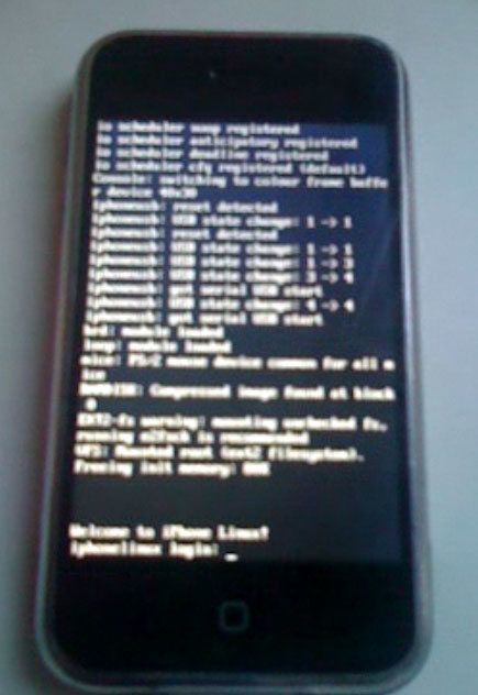 Linux corriendo en un iPhone