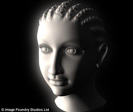 El rostro de Cleopatra en 3D