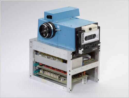 La primera cámara digital de la historia