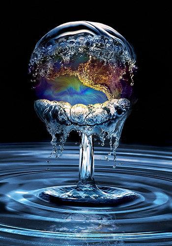 El mundo con el agua al cuello