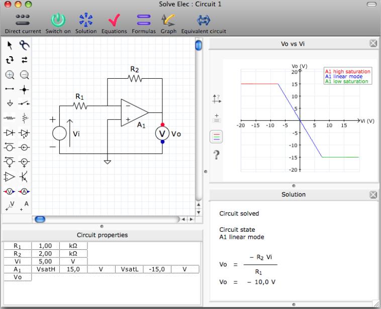editor de circuitos electronicos para mac
