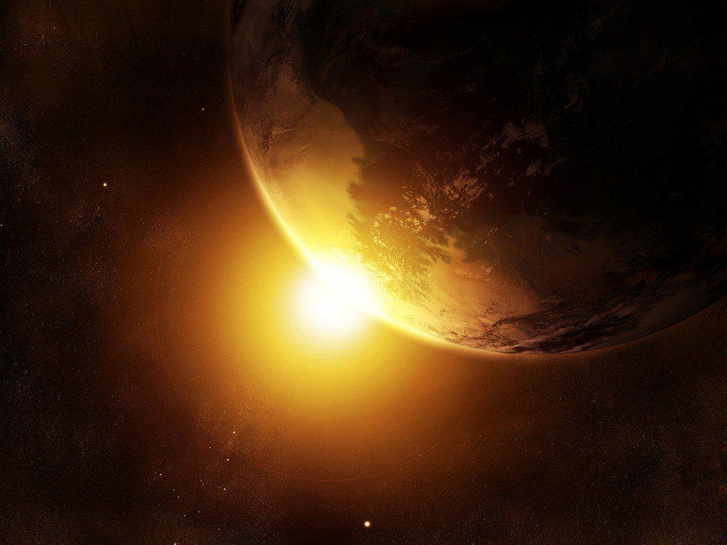 Строение и видимая  поверхность Солнца
