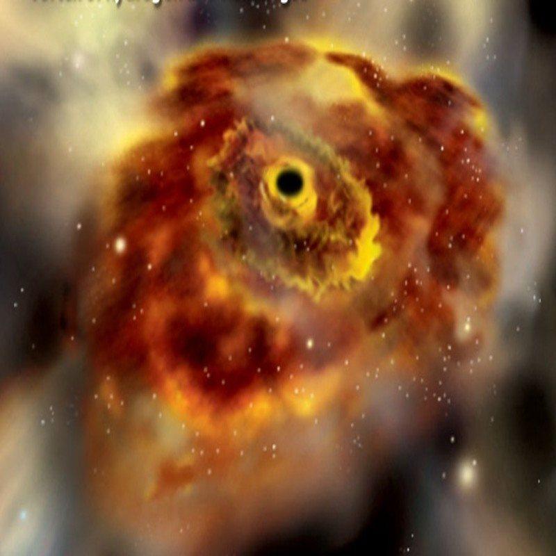 Resultado de imagen de El mayor agujero negro