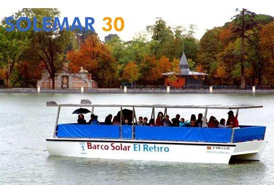 El primer barco solar de turistas es español
