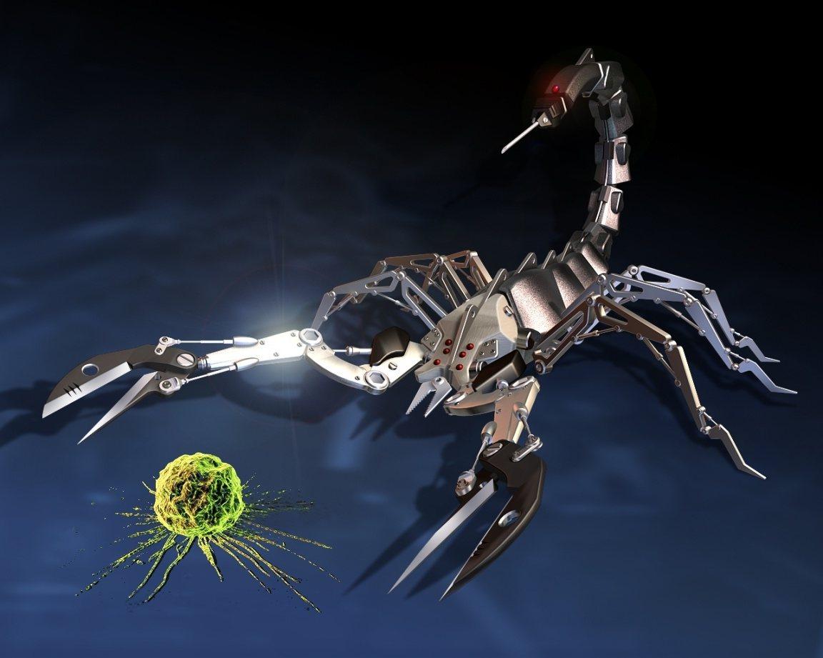 Escorpiones contra el cáncer
