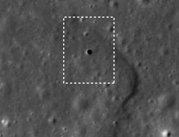 Túneles lunares: Claraboya en la Luna