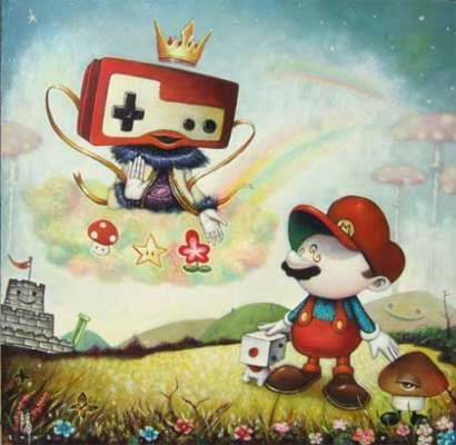 Juegos Arte: Pienso luego juego