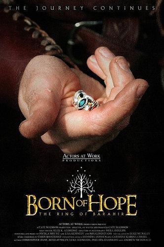 Born of Hope, inspirada en El Señor de los Anillos