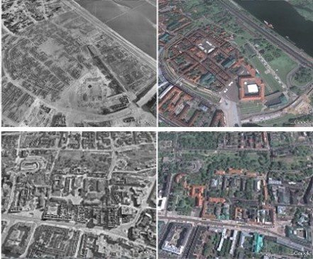 La Segunda Guerra Mundial en Google Earth