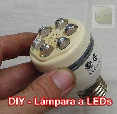 DIY - Lámpara de bajo consumo (LED)
