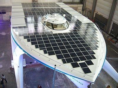 Planet Solar: La vuelta al mundo en 140 días