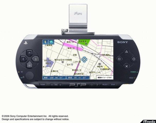 Software GPS para el PSP