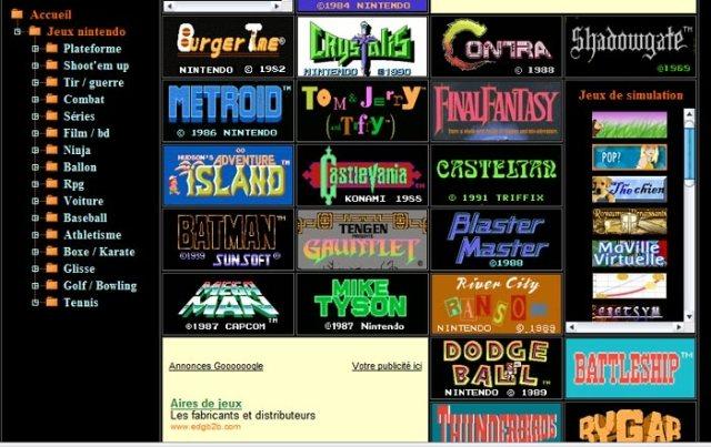 1980, juega los títulos de Nintendo NES desde el navegador