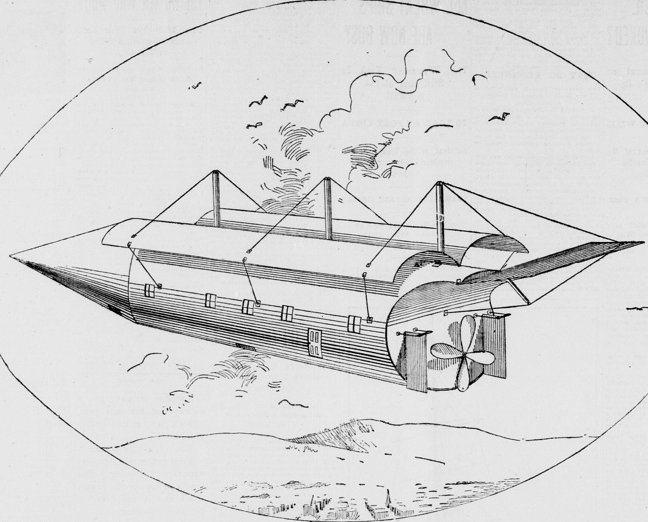 La máquina voladora de C. A. Smith (1896)