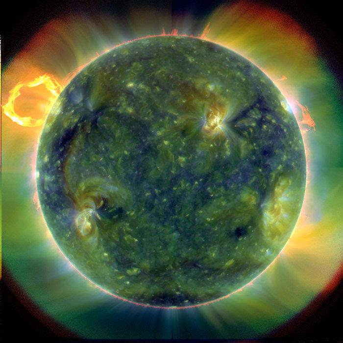 Imágenes del Sol nunca vistas