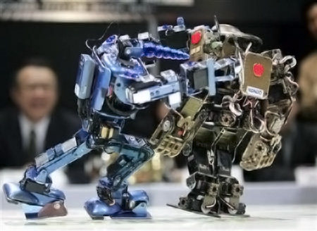 Los mejores vídeos de peleas de robots