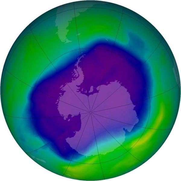 ¿Qué ha pasado con la capa de ozono?