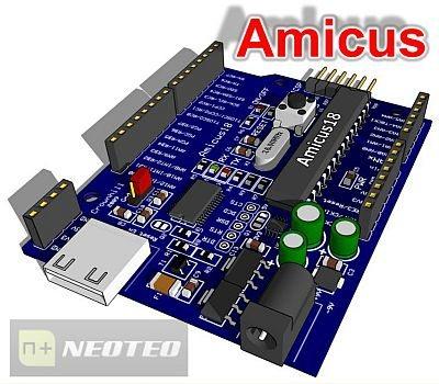 Amicus: Software libre para PIC 18F25K20