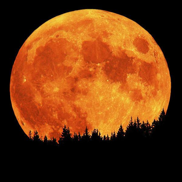 ¡La Luna se achica!