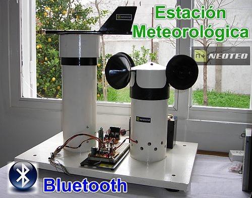 Estación Meteorológica NeoTeo (Bluetooth)