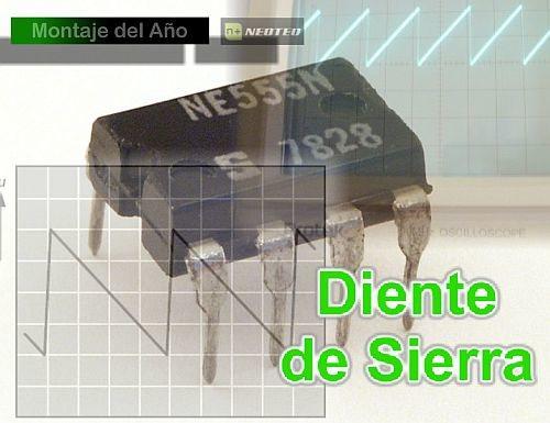 Generador de diente de sierra con NE555