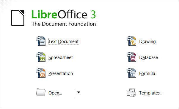 Un vistazo a LibreOffice 3