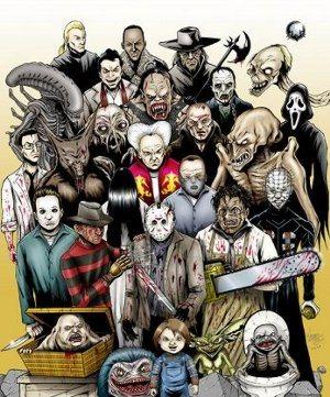 Juegos basados en películas de terror