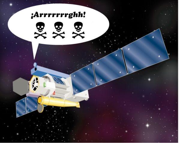 ¿Un servidor BitTorrent en el espacio?