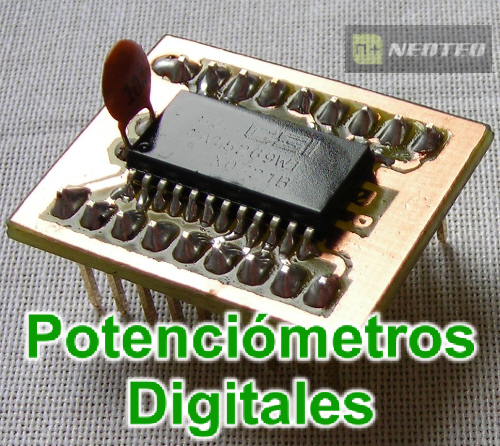 Potenciómetros Digitales vía I2C con 18F25K20