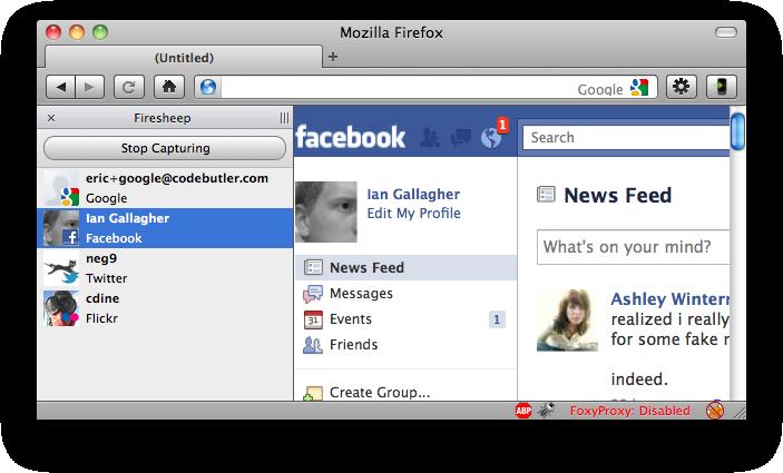 Firesheep: Hackear Facebook nunca fue tan fácil