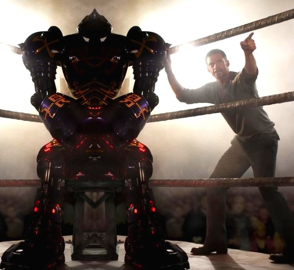 Real Steel, lucha de robots (Trailer)