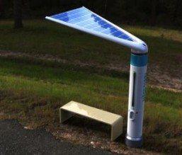 Hydroleaf: Parada que purifica agua de lluvia