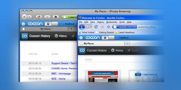 Cocoon: Privacidad y seguridad en Firefox