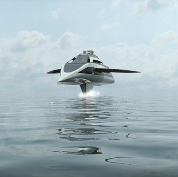 """Cruiser Series"": Yate submarino volador"